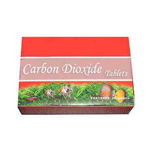 36 CO2 Tablets - Hydroponics Aquarium Plant Coral Diffuser C02 tabs  Grow Lights