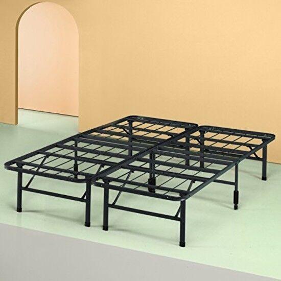 "TOP Quality Zinus Modern Studio 14"" Metal Bed Frame Mattress"