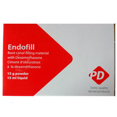 Dental Endofill Root Canal Sealer 15gm Powder 15ml Liquid By Pd Swiss