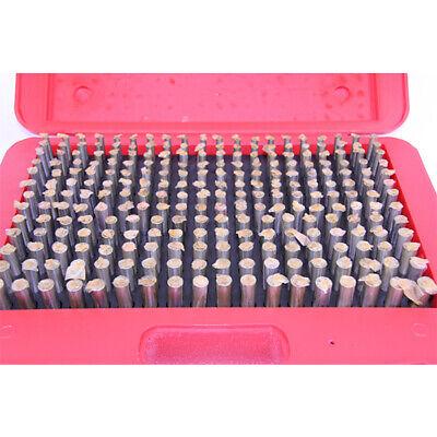 New 125 Pc. M3 .501-.625 Plug Pin Gage Set Minus - Steel .0002 Tolerance