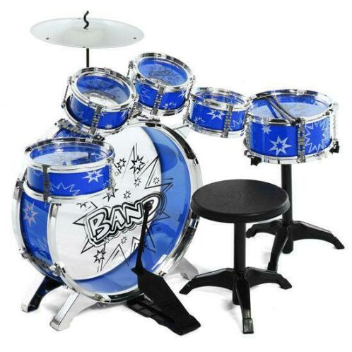 16x Kids Junior Drumstel Muziekset Kinderen Mini Big Band...