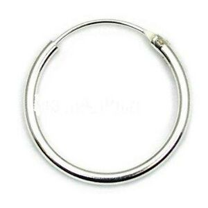 mens sterling silver hoop earrings mens small 925 sterling silver hinged ear hoop sleeper 6785