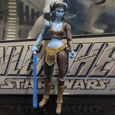 "STAR WARS the clone wars AAYLA SECURA jedi master 3.75"" CW40"