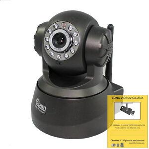 Ip camara wifi motorizada vision nocturna video vigilancia - Camaras de vigilancia ip wifi ...
