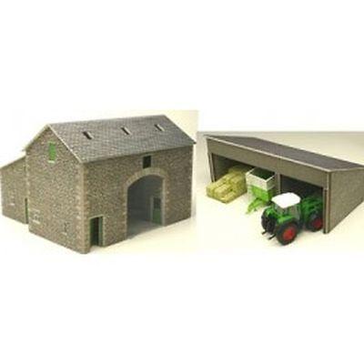 Metcalfe 00/H0  Manor Farm Barn  PO251  Railway  Scenery (Vehicles not Included)