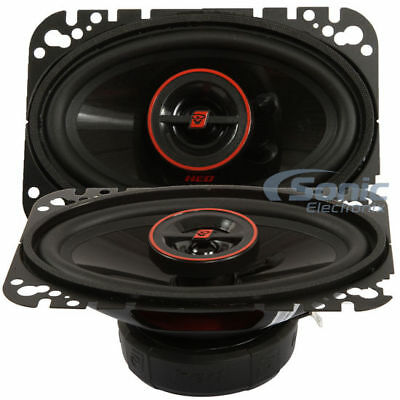 CERWIN-VEGA H746 550W 4x6 HED Series 2-way Coaxial Car Speakers 4x6' 2 Way Coaxial Speakers