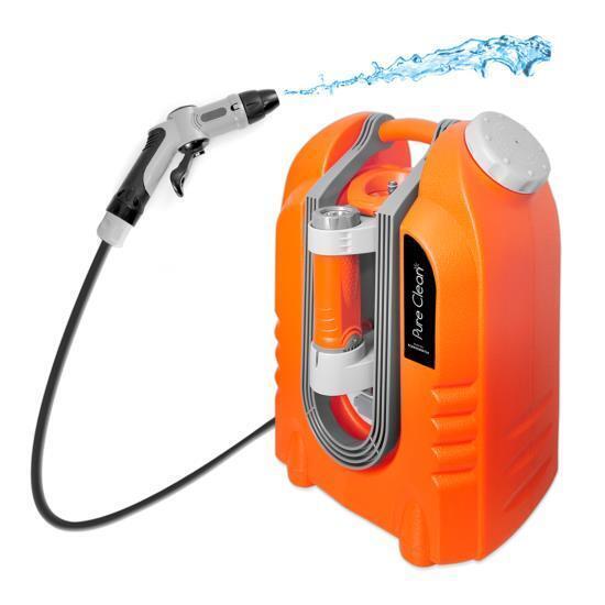 Pure Clean PCRWASHBAT29 portable spray washer W Flash Light