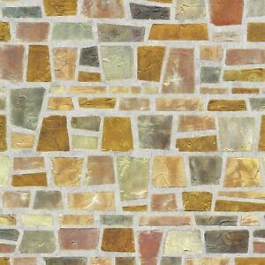 Fragment Stone Effect Self Adhesive Wallpaper Home Depot