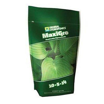 General Hydroponics MaxiGro 2.2lbs pounds - maxi ...