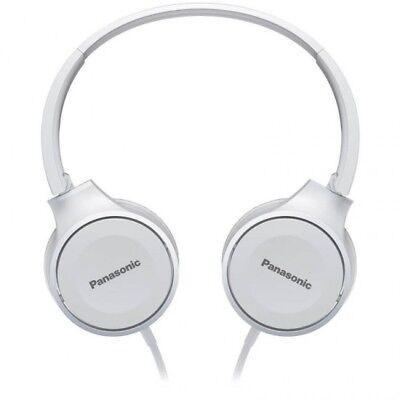 Auriculares de diadema Panasonic RP-HF100E-W plegables color blanco cascos