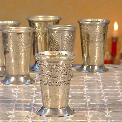 Marokkanischer Teebecher Orient Teecup Teeglas Antik B