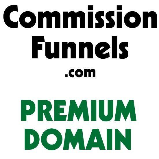 Commission Funnels .com Premium Domain Name Affiliate Marketing ClickFunnels