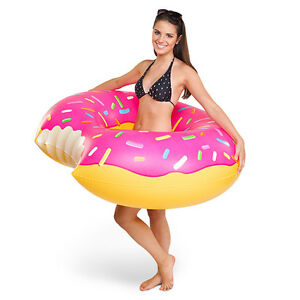 Mmm... Giant Donut Pool Floats! by Big Mouth Toys