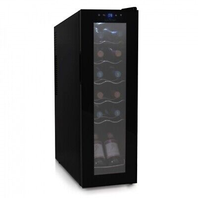 NutriChef PKCWC120 Smart Wine Cooler Chilling Refrigerator. Adjustable Temp.