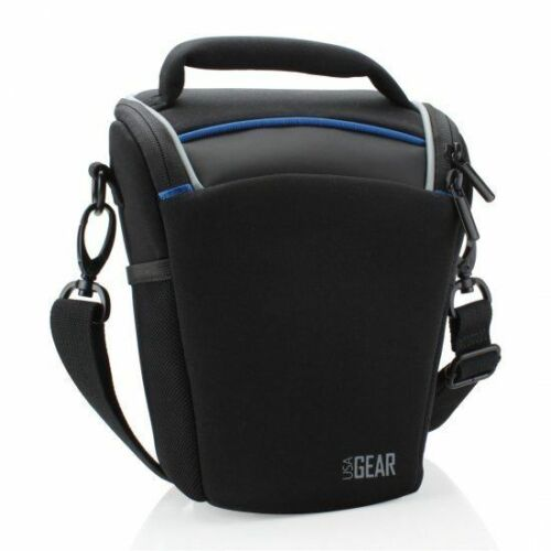 USA GEAR Top-loading Digital SLR Camera Bag with Adjustable