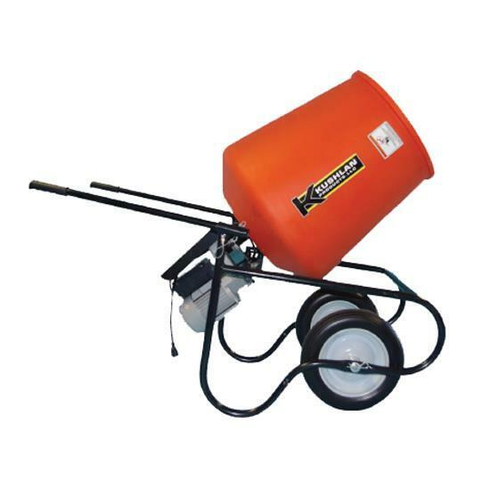 Kushlan Products 350DD 3.5 CF 3/4 HP Direct Drive Cement Mixer