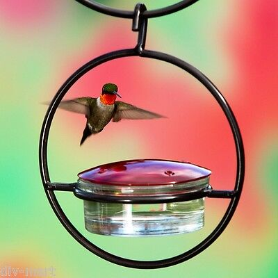 "Couronne #45301, 7"" HANGING SPHERE HUMMINGBIRD NECTAR FEEDER"