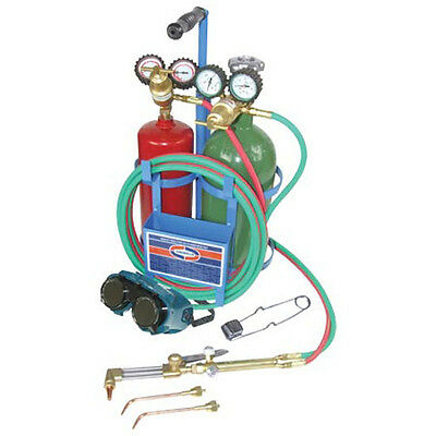 Ez-flo 42230 Uniweld Oxyacetylene Welding Brazing And Cutting Kit Without Tanks