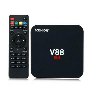 SCISHION V88 RK3229 4K Android 5.1 1G 8G WIFI LAN Dolby D...