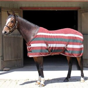 Shedrow Newmarket deluxe fitted fleece cooler