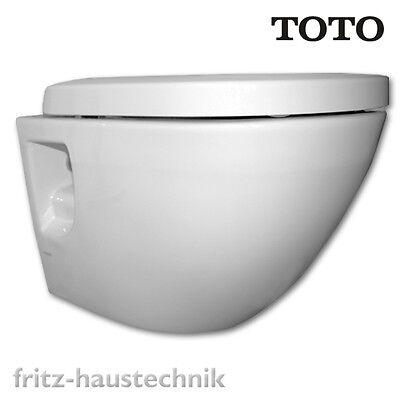 TOTO NC Tornado Flush Wand-WC Toilette Spülrandlos inklusive Softclosing WC-Sitz