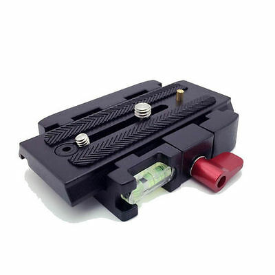 TARION Connect Adapter Mount With Quick Release Plate For Manfrotto 577 Tripod