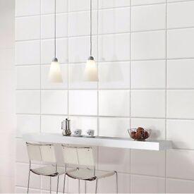 White TILES for sale Kitchen/Bathroom/Floor/Wall