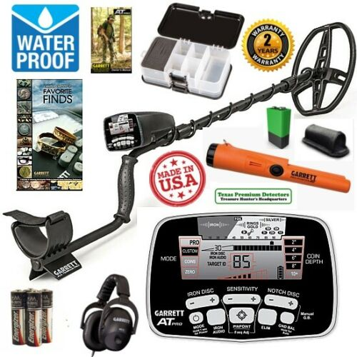 Garrett AT Pro Metal Detector Pro Pointer AT Special with Accessory Package
