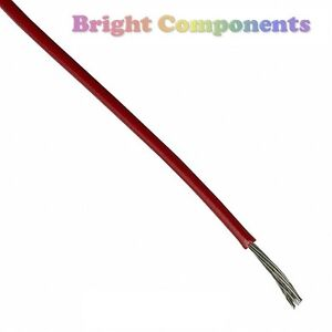 2m-Red-Equipment-Wire-7-0-2mm-General-Use-1st-CLASS-POST