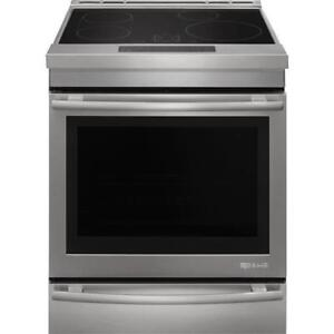 Jenn-Air Euro Style JIS1450DS Electric Range 30 inch, Self Clean, Convection, 4 Burners, Induction Elements, Oven Drawer