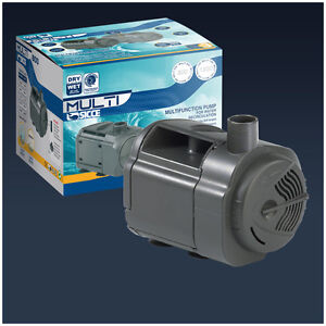 Pompa per fontana o cascata laghetto multi 2500 ebay for Pompa esterna per laghetto