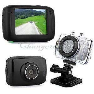 720P HD Mini Action Helmet Camera Waterproof Sport Car DV Bike Camcorder