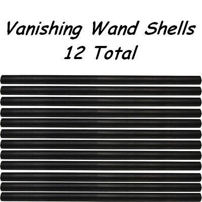 VANISHING WAND - 12 EXTRA SHELLS ONLY - MAGIC TRICK - FREE SHIPPING