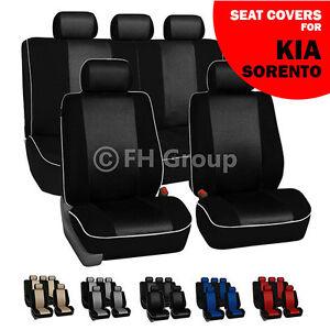 kia sorento car seat covers ebay. Black Bedroom Furniture Sets. Home Design Ideas