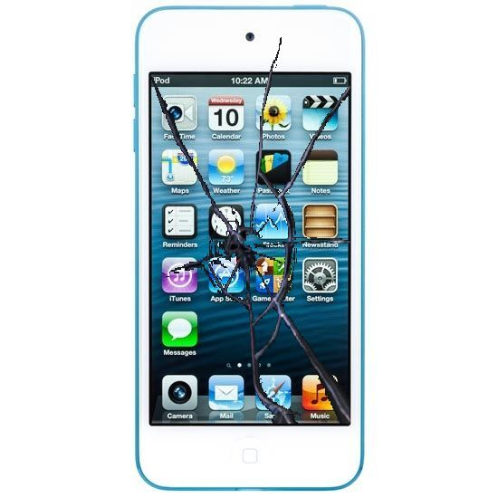 Apple Ipod Touch 5th & 6th Gen Broken Screen Glass Lcd Digitizer Repair Service