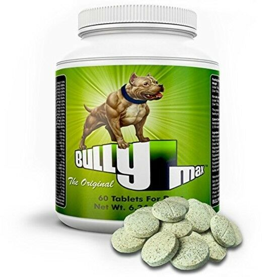 Bully Max Pro Protein Powder For Dogs Muscle Pill Large Smal