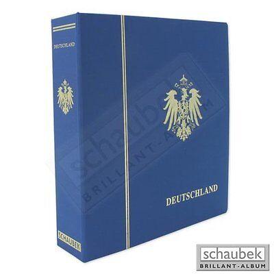 SCHAUBEK LÄNDERALBUM DEUTSCHES REICH 1872-1945 IM SCHRAUBBINDER - WIE NEU !!!