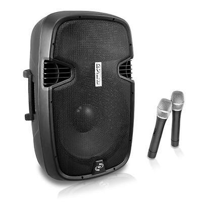 "NEW Pyle PPHP129WMU 12"" 1000W Bluetooth Portable Speaker & 2"