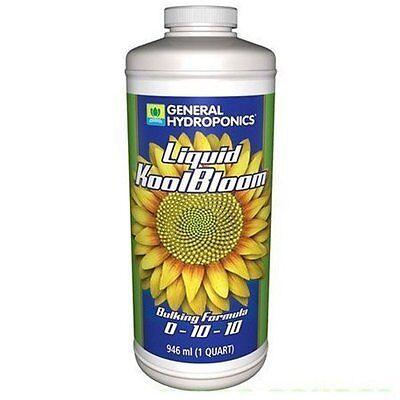 General Hydroponics KoolBloom Liquid 1 Quart 32oz ...