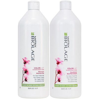 MATRIX Biolage ColorLast Shampoo and Conditioner 33.8oz (1L) *Free n