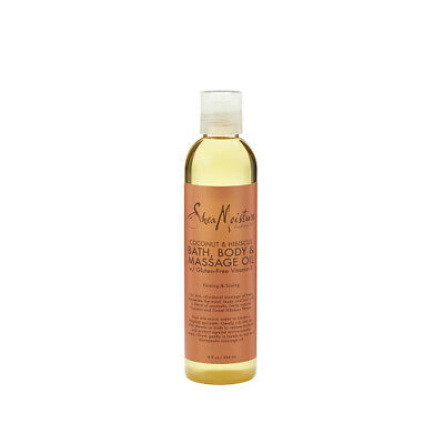 SheaMoisture Coconut & Hibiscus Bath, Body & Massage Oil | 8