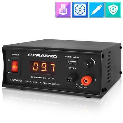 Pyramid Psv40u Bench Power Supply - Ac-to-dc Power Converter Adjustable Voltage