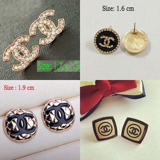 Jewellery - Fashion lady Jewelry Alloy Crystal Classic Stud Earring