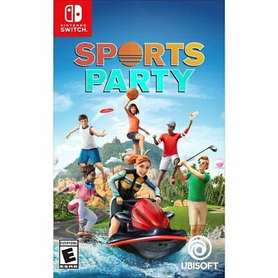 Sports Party (Nintendo Switch) Brand New Factory Sealed](Party Factory)