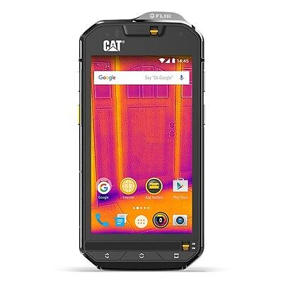 Cat S60 Unlocked Gsm Smartphone With Built In Flir Thermal Imager  32Gb