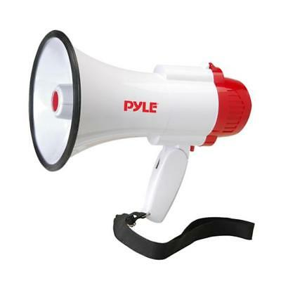 Megaphone Pa Bullhorn With Built-in Siren Record Function With 10 Second Memory