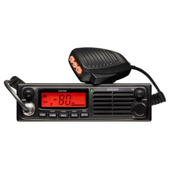 ORICOM UHF400R HEAVY DUTY 80 CHANNEL 5W UHF 12v 24v  CB RADIO FOR TRUCK CAR 4WD