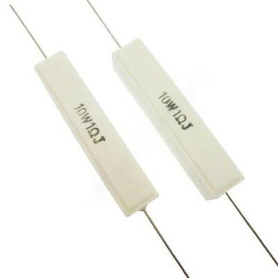 2x 1 Ohm 1r 10w1rj 1j 10w10 Watt High Power Resistor