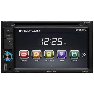Double-DIN DVD Player 6.2 Touchscreen Bluetooth
