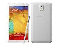 Samsung galaxy note 3. White. Unlocked. £135 fixed price